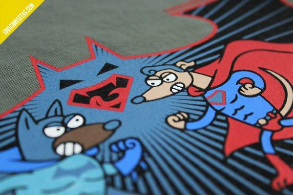 Camiseta kukuxumusu batman superman