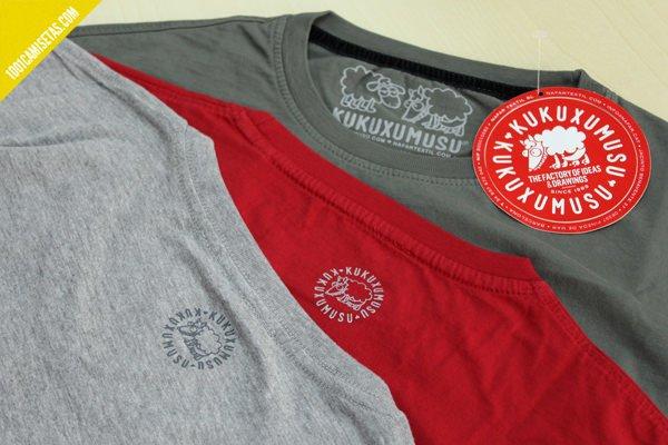 Camisetas de kukuxumusu