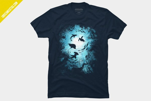 Camisetas mar