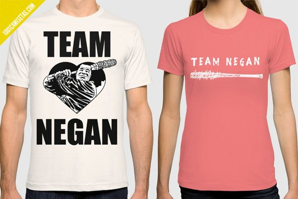 Camisetas team negan