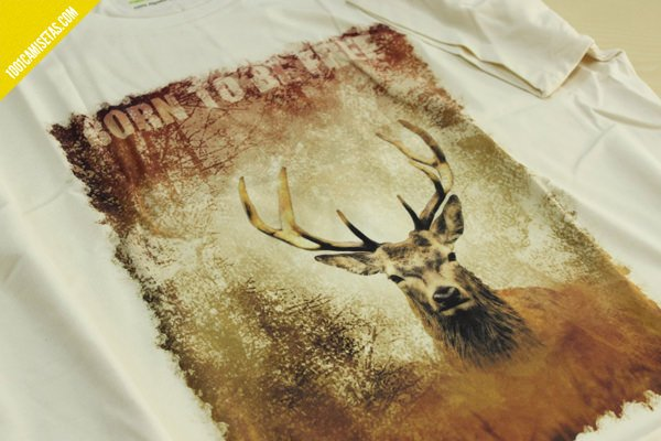 Camiseta algodon organico somos fauna