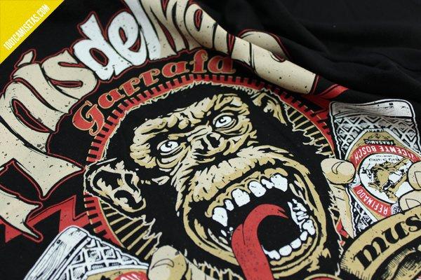 Camiseta anis del mono señor miyagi
