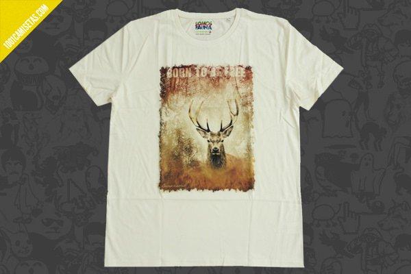 Camiseta ciervo somos fauna