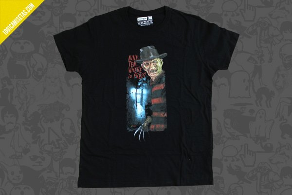 Camiseta freddy krueger scifright