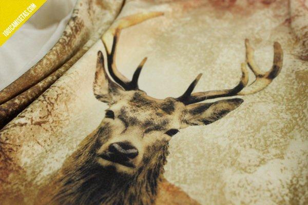 Camiseta impresión digital ciervo