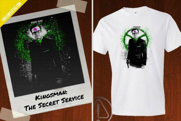 Camiseta kingsman spoiler