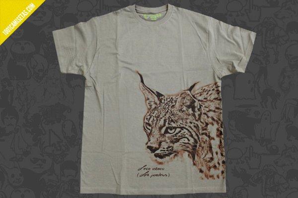Camiseta lince somos fauna