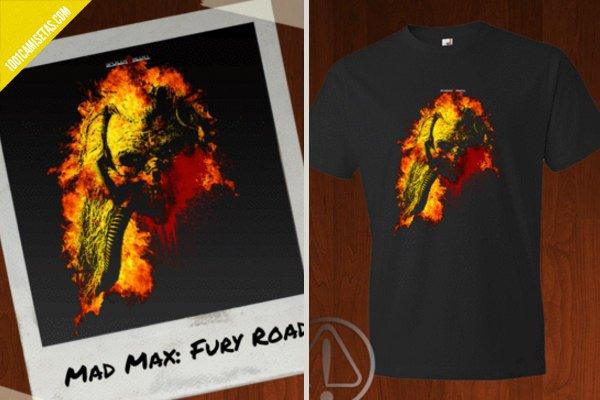 Camiseta mad max spoiler