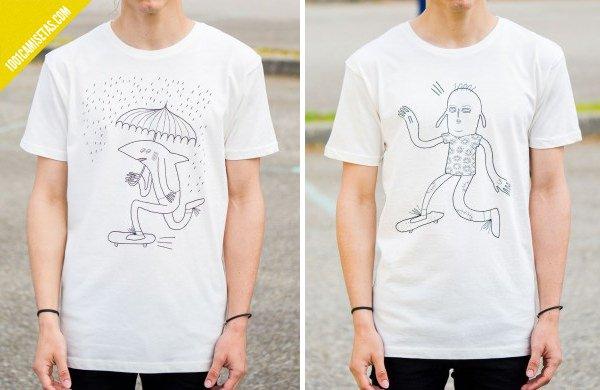 Camisetas ecologicas mandacaru