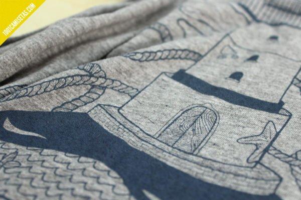Camisetas serigrafia marabunta