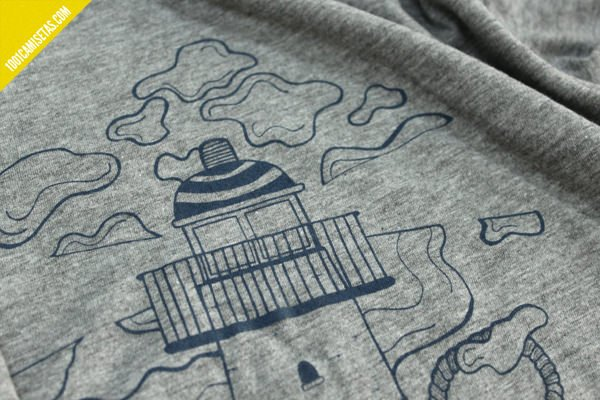Camisetas serigrafiadas marabunta