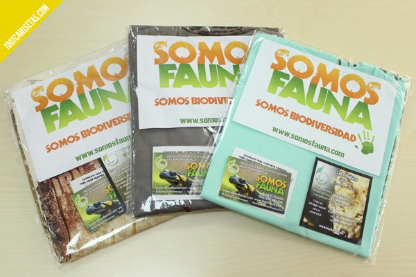 Packaging somos fauna