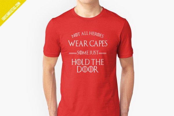 Camiseta hodor juego de tronos