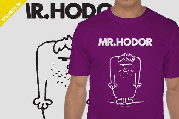 Camiseta mr hodor