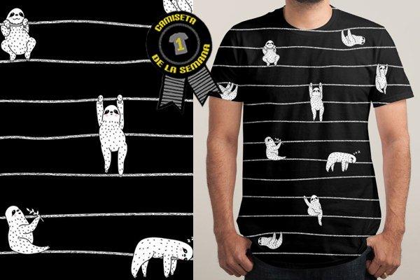 Camiseta semana sloth
