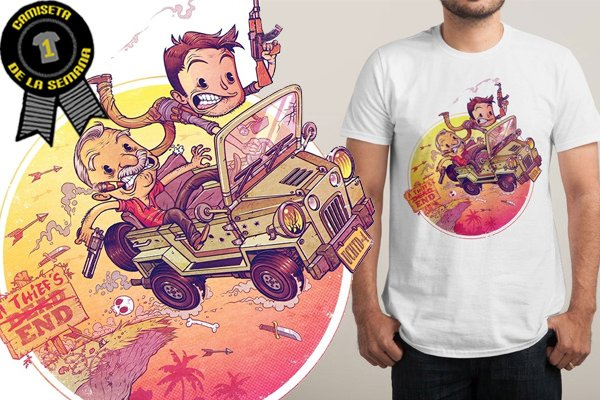 Camiseta semana uncharted