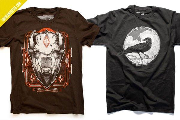Camisetas el cuervo