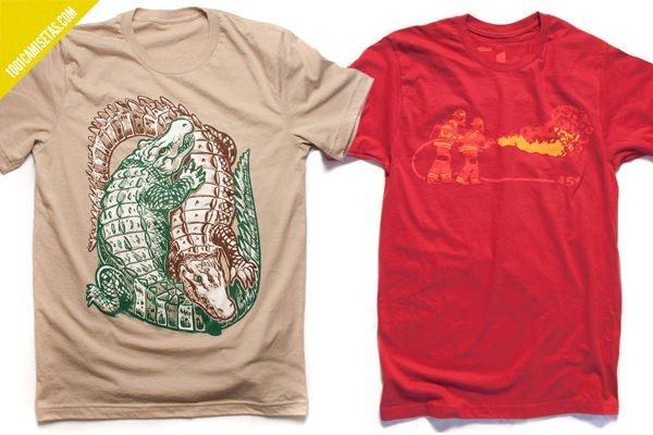 Camisetas farenheit 451