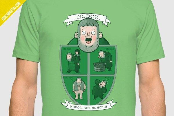 Camisetas hodor juego de tronos