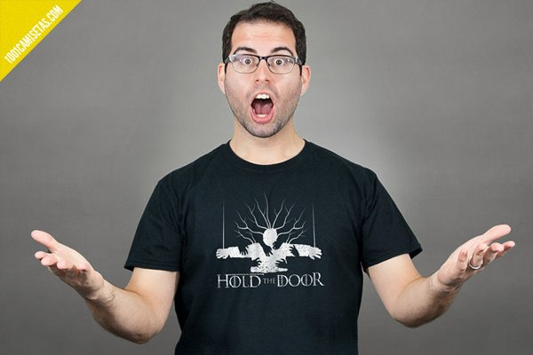 Camisetas juego de tronos hodor