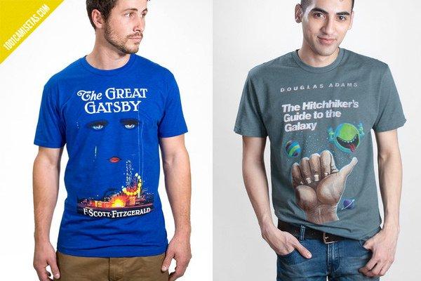 Camisetas libros gran gatsby