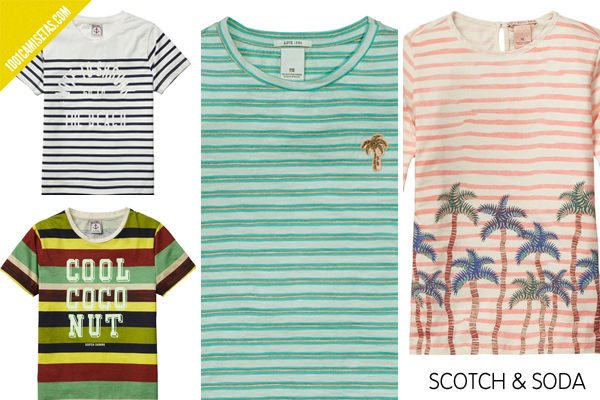 Camisetas rayas scotch soda