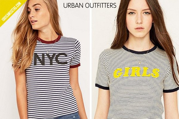 Camisetas rayas urban outfitters