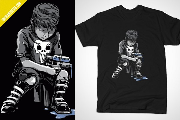 Camisetas the punisher bustedtees