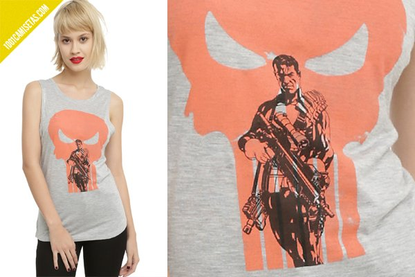 Camisetas the punisher hottopic