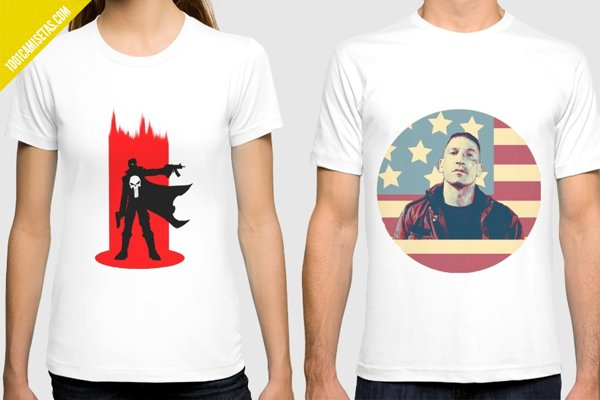 Camisetas the punisher society6