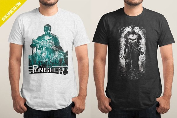 Camisetas the punisher threadless