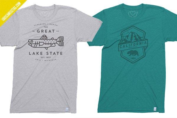 Camisetas usa 50 states