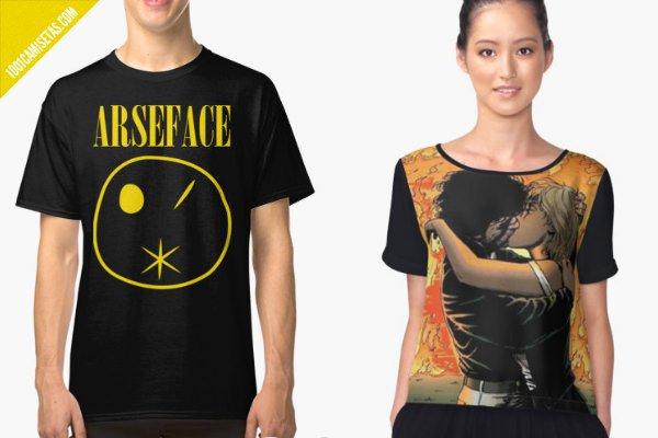 Camiseta arseface preacher