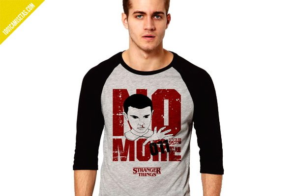 Camiseta no more stranger things