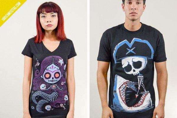 Camisetas akumu goticas