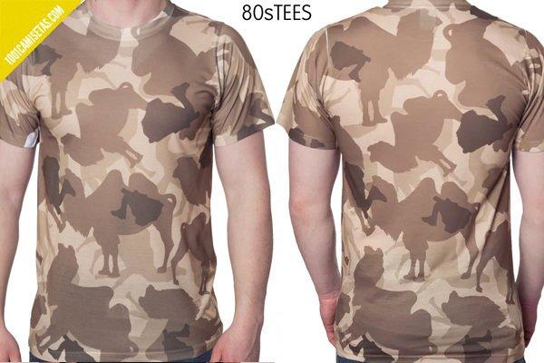 Camisetas camuflaje 80tees