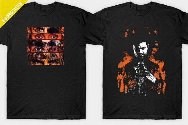 Camisetas de preacher