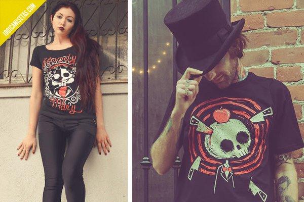 Camisetas goticas akumu
