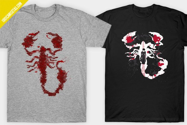Camisetas penny dreadful escorpion