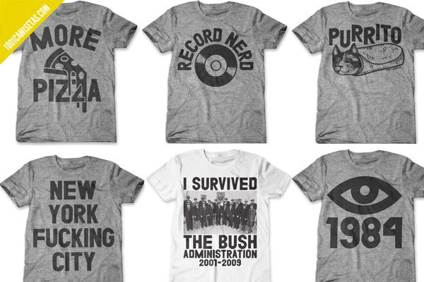 Camisetas print liberation