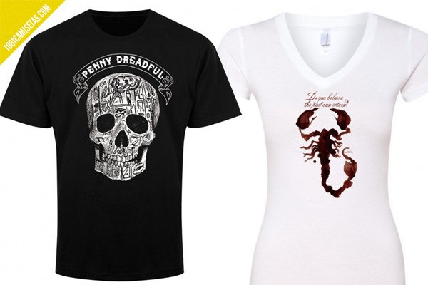Penny dreadful camisetas escorpion