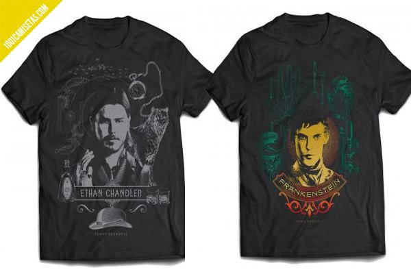 Penny dreadful camisetas