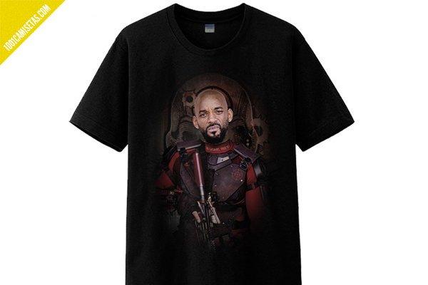 Camisetas Escuadron Suicida Deadshot