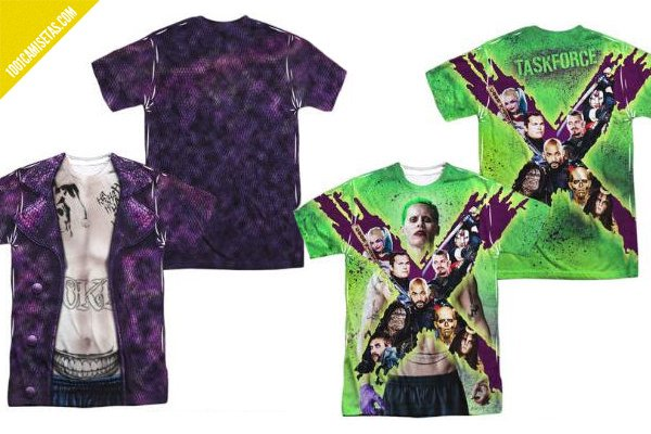 Camisetas full print joker