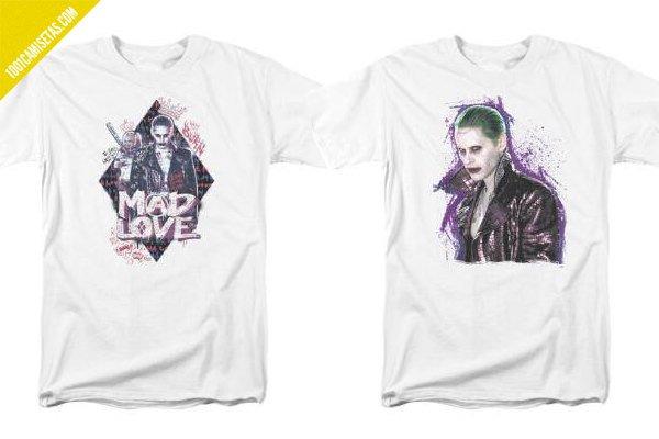 Camisetas joker escuadron suicida