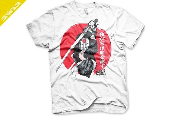 Camisetas Katana Escuadron Suicida