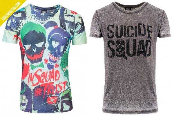 Camisetas suicide squad