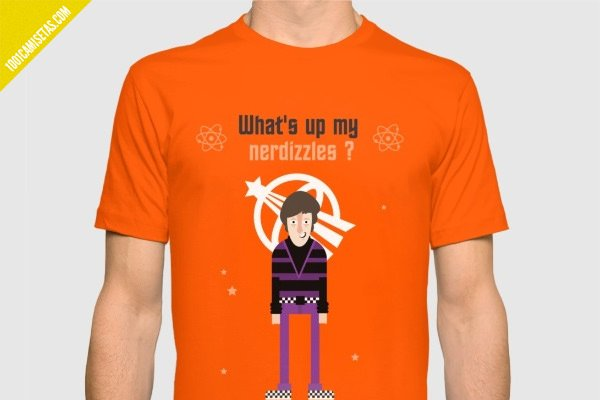 Camiseta howard wolowitz the big bang theory