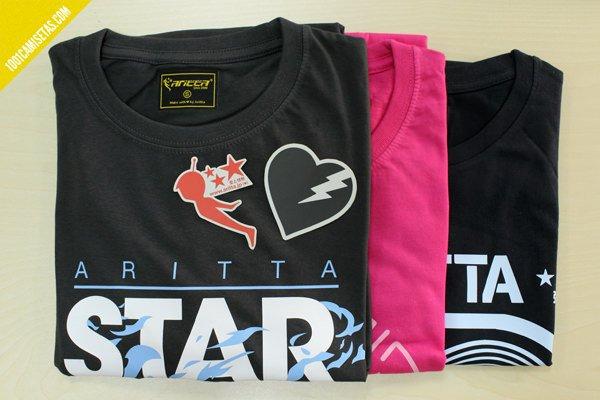 Camisetas de aritta japan