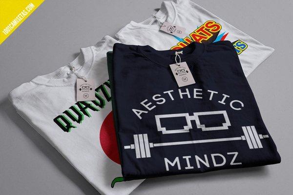 Camisetas gimnasio aesthetic mindz